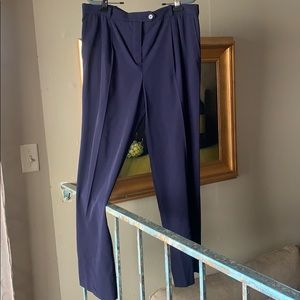 Hermès navy dress pant 46 / waist 36""
